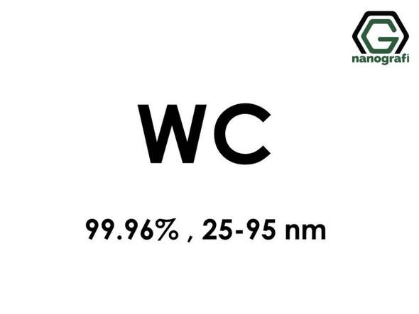 WC(Tungsten Karbür) Nanopartikül,, 99.96%,25-95 nm