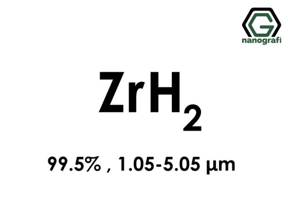 ZrH2(Zirkonyum Hidrit) 99.5%, 1.05-5.05um
