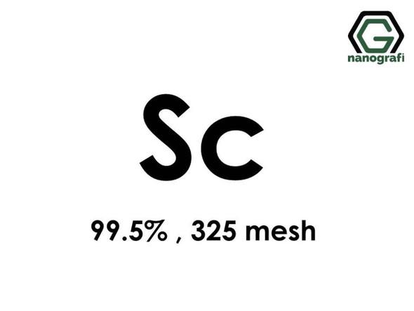 Sc(Skandiyum) Toz, 325 mesh , 99.5 %