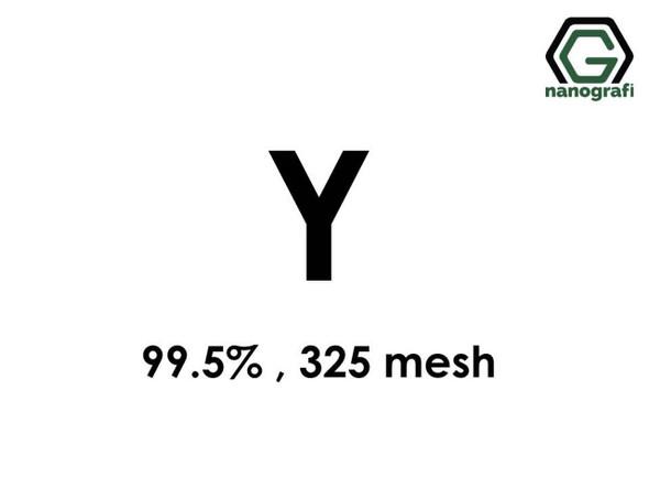 Y(İtriyum) Toz, 325 mesh , 99.5 %