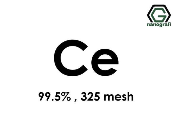 Ce(Seryum) Toz , 325 mesh , 99.5 %