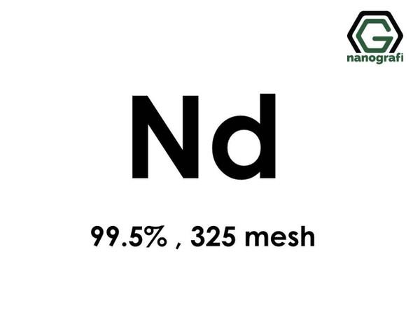 Nd(Neodimyum) Toz, 325 mesh , 99.5 %
