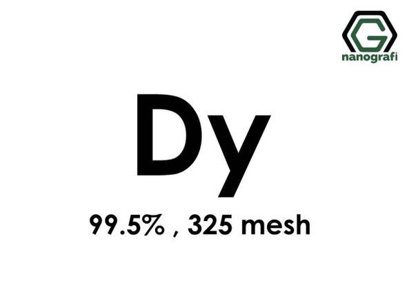 Dy(Disprosyum) Toz, 325 mesh , 99.5 %