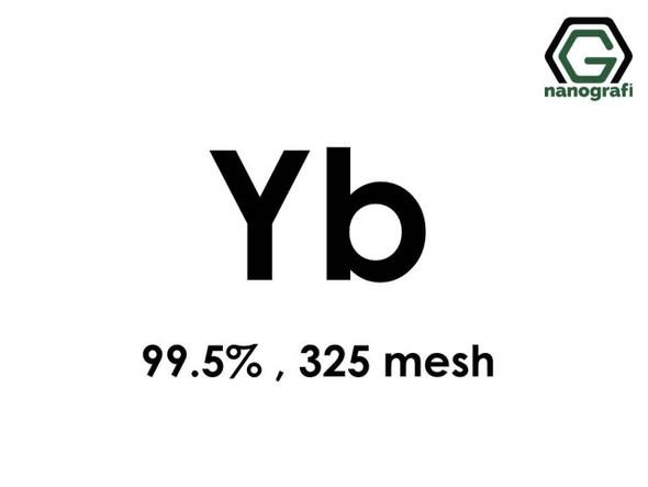 Yb(İterbiyum) Toz, 325 mesh , 99.5 %