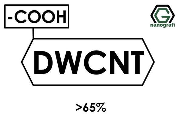 COOH ile Fonksiyonlaştırılmış Çift Duvarlı Karbon Nanotüp, Saflık > 65%