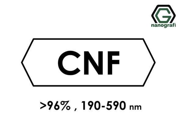 Karbon Nanofiber (Saflık > 96%, Dış Çap: 190-590nm)