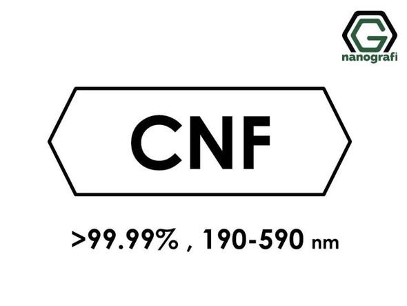 Grafitleştirilmiş Karbon Nanofiber (Saflık > 99.99%, Dış Çap: 190-590nm)