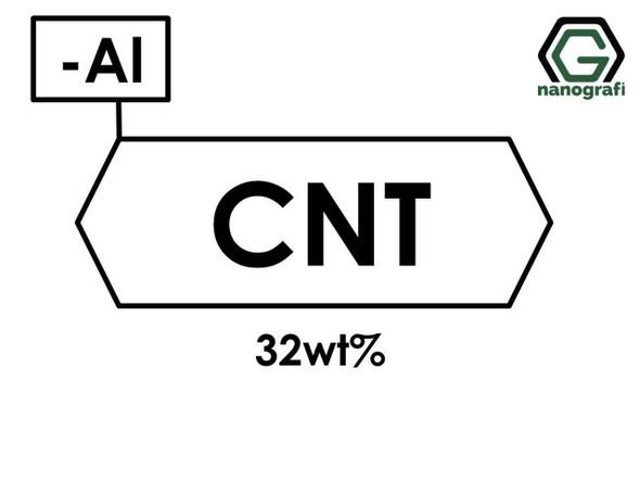 Katkılanmış Karbon Nanotüp, 32 %ağ Aluminyum (Al) Nanopartikül/Nanotoz