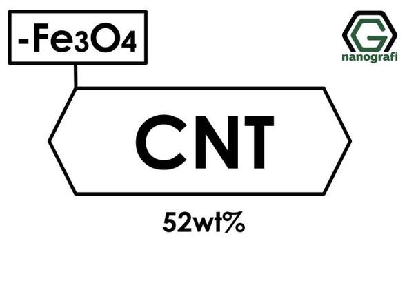 Katkılanmış Karbon Nanotüp, 52 %ağ Demir Oksit (Fe3O4) Nanopartikül/Nanotoz
