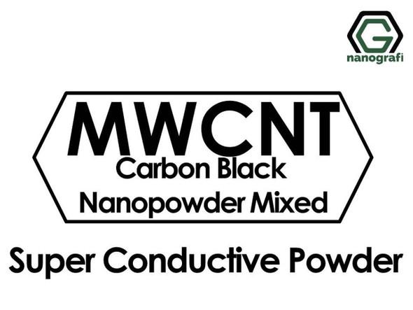 Süper İletken Karbon Siyah Nanopartikül/Nanotoz ve Karbon Nanotüp Karışımı