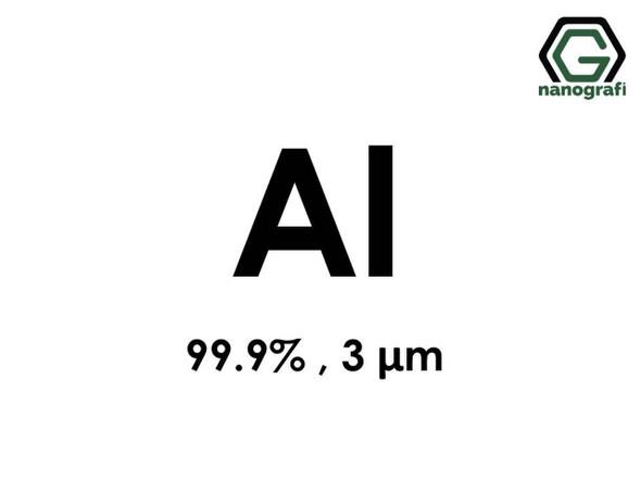 Al(Alüminyum) Micron Toz, 3 micron, 99.9 %