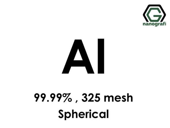 Al(Alüminyum) Mikron Toz,(Küresel), 325 mesh, 99.99 %