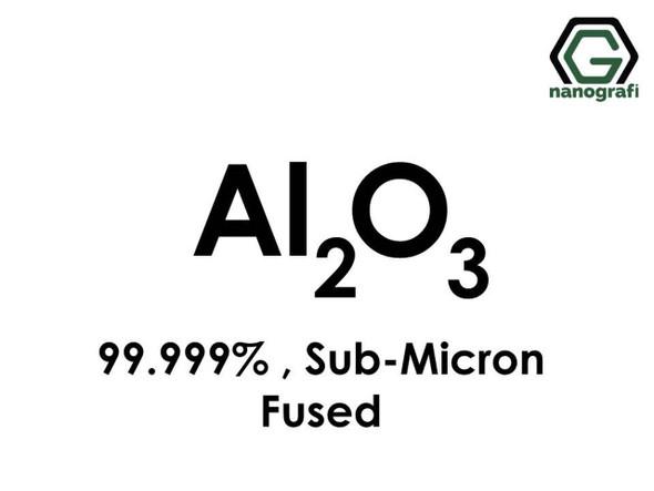 Al2O3(Alüminyum Oksit) Toz(Fused (Erimiş)), Mikron-altı, 99.999%