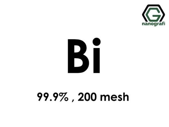 Bi(Bizmut) Mikron Toz, 200 Mesh, 99.9 %