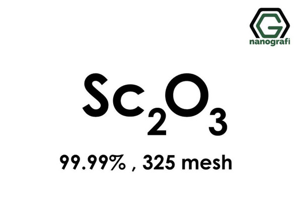 Sc2O3(Skandiyum Oksit) 99.99%,325 mesh