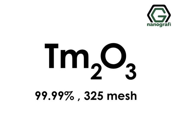 Tm2O3(Tuliyum Oksit), 99.99%, 325 mesh