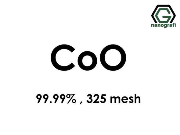 CoO(Kobalt Oksit) Mikron Toz(Black), 325 Mesh, 99.99 %