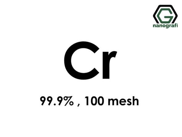 Krom Micron Toz, 100 Mesh, 99.9 %