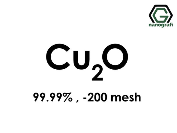 Cu2O(Bakır Oksit) Mikron Toz(Black), 200 Mesh, 99.99 %