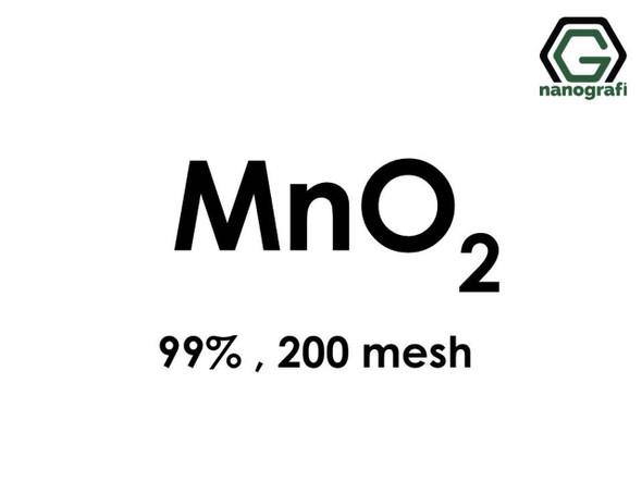 MnO2(Mangan Dioksit) Mikron Toz, 200 Mesh, 99 %
