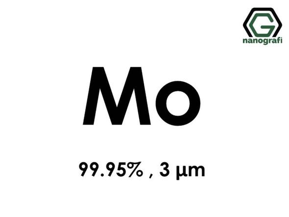 Mo(Molibden) Mikron Toz,3 micron, 99.95 %