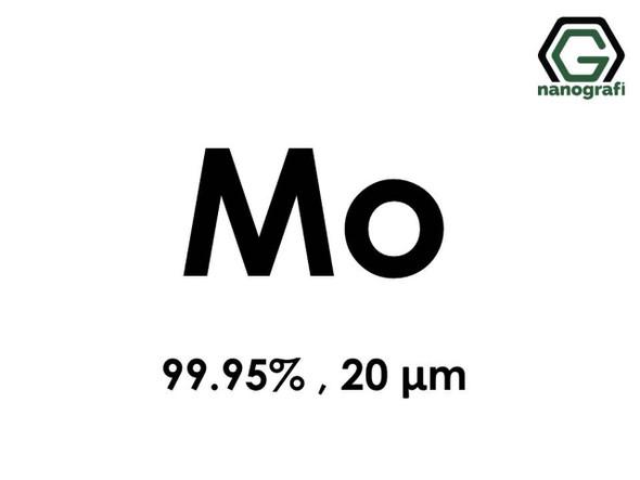 Mo(Molibden) Mikron Toz, 20micron, 99.95 %