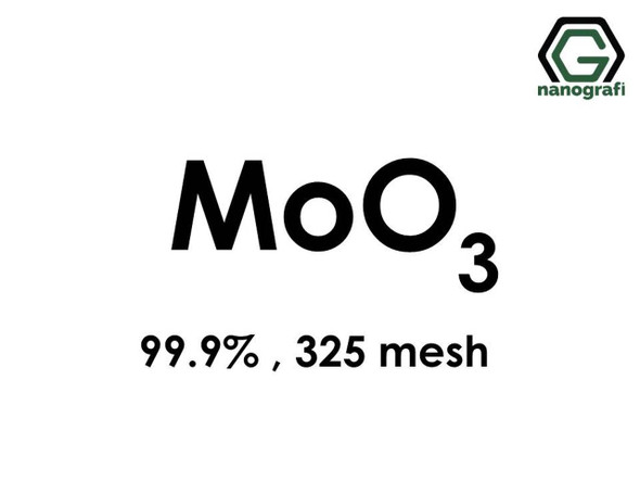 MoO3(Molibden Trioksit) Toz, 325 mesh, 99.9 %