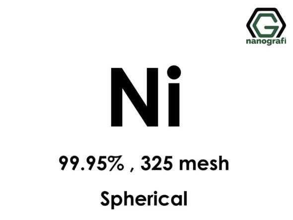 Ni(Nikel) Mikron Toz(Küresel), 325 Mesh, 99.95 %