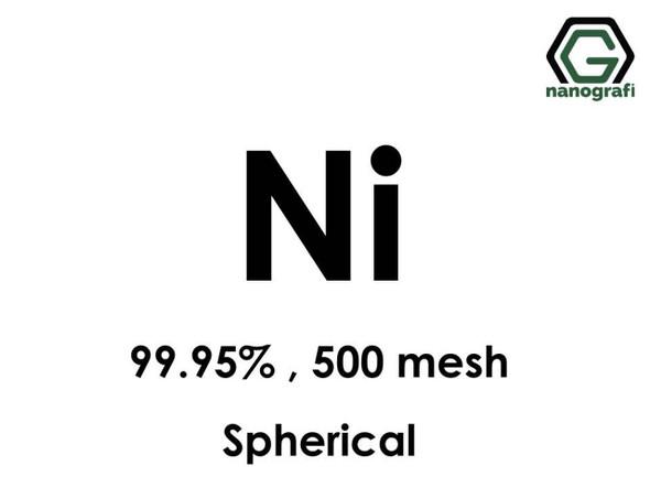 Ni(Nikel) Mikron Toz(Küresel), 500 Mesh, 99.95 %