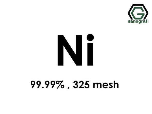Ni(Nikel) Mikron Toz, 325 Mesh, 99.99 %