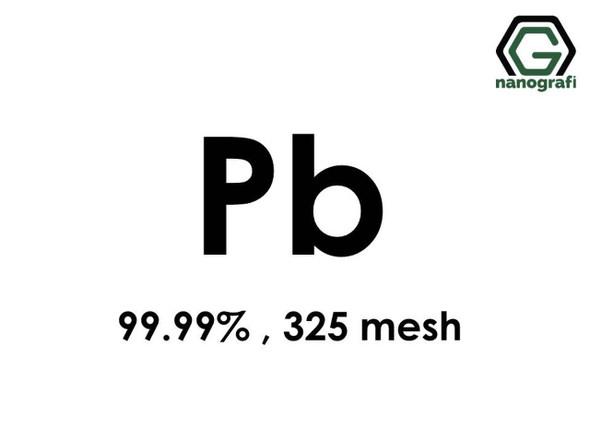 Pb(Kurşun) Mikron Toz, 325 mesh, 99.99 %