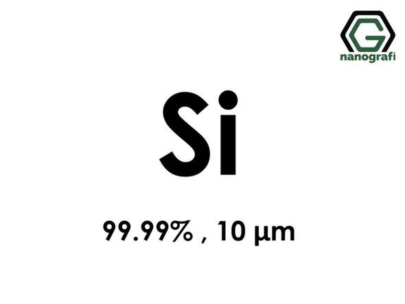 Si(Silikon) Mikron Toz, 10 micron, 99.99 %