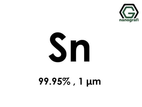 Sn(Kalay) Mikron Toz, 1 Micron, 99.95 %