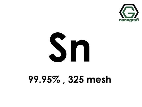 Sn(Kalay) Mikron Toz, 325 mesh, 99.95 %