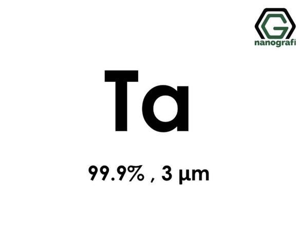 Ta(Tantalyum) Mikron Toz, 3 Micron, 99.9 %