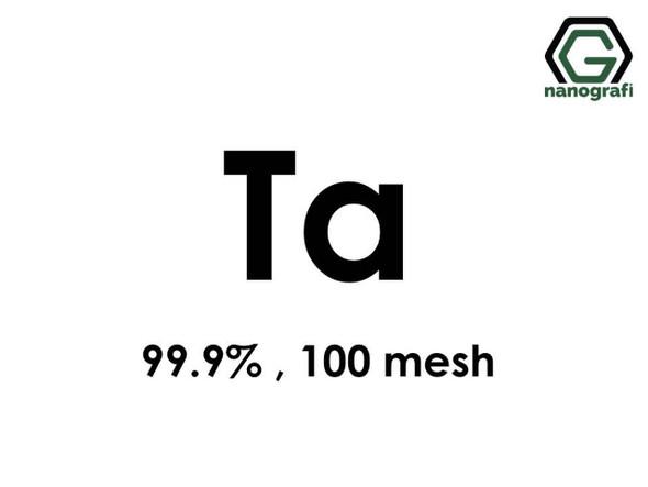 Ta(Tantalyum) Mikron Toz, 100 mesh, 99.9 %