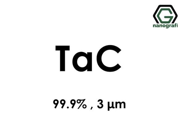 TaC(Tantalyum Karbür) Mikron Toz, 3 Micron, 99.9 %