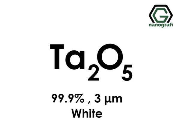 Ta(Tantalyum)Pentoksit Mikron Toz(Beyaz ), 3 Micron, 99.9 %