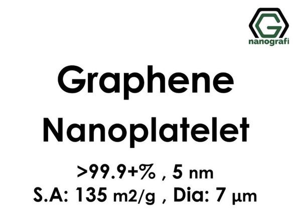 Graphene Nanoplatelet, 99.9+%, 5 nm, S.A:135 m2/g Dia: 7μm