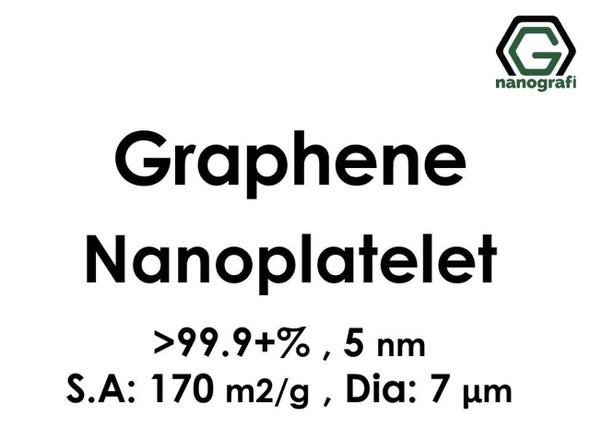 Graphene Nanoplatelet, 99.9+%, 5 nm, S.A:170 m2/g Dia: 7μm