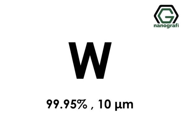 W(Tungsten) Mikron Toz, 10 Micron, 99.95 %