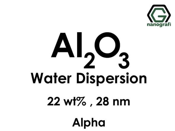 Al2O3 - Su İçerisinde, Alfa, 22 %ağ, 28nm