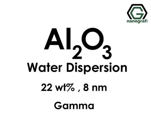 Al2O3 - Su İçerisinde, Gama, 22 %ağ, 8nm