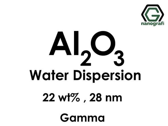 Al2O3 - Su İçerisinde, Gama, 22 %ağ, 28nm