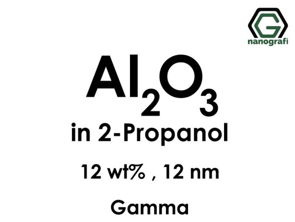 Al2O3 in 2-Propanol, Gama, 12%ağ, 12nm