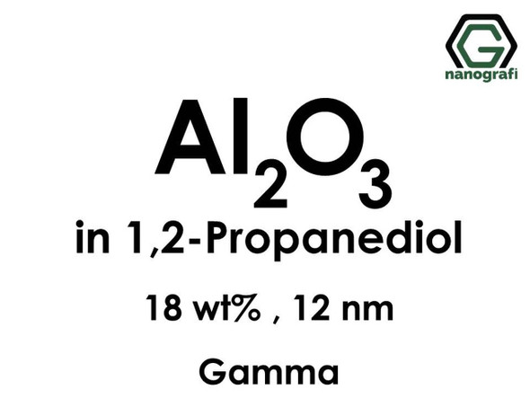 Al2O3 in 1, 2-Propanediyol, Gama, 18%ağ,12nm