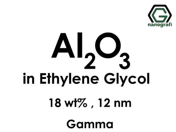 Al2O3 - Etilen Glikol İçerisinde, Gama, 18%ağ, 12nm