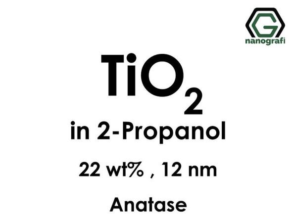 TiO2 in 2-Propanol, Anataz, 22%ağ, 12nm
