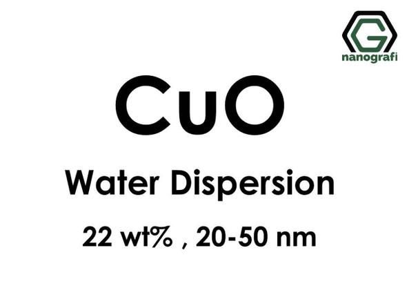 CuO - Su İçerisinde, 22 %ağ, 20-50nm