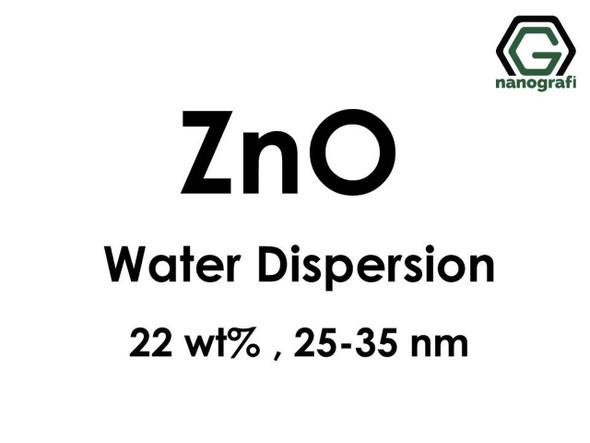 ZnO - Su İçerisinde, 22 %ağ, 25-35nm